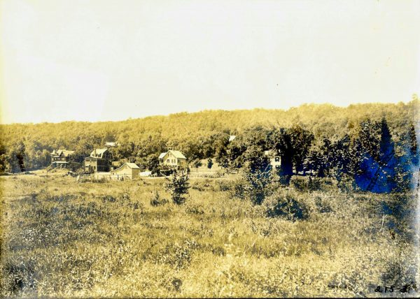 An early photo of the land that would become Anderson Park