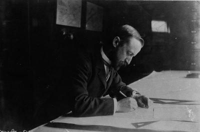John Charles Olmsted, circa 1907