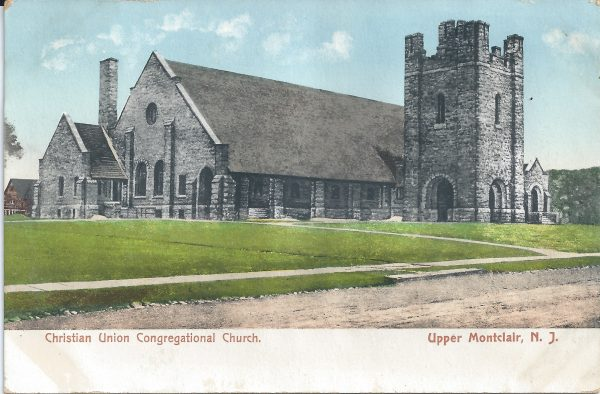 Postcard image of Union Congregational Church